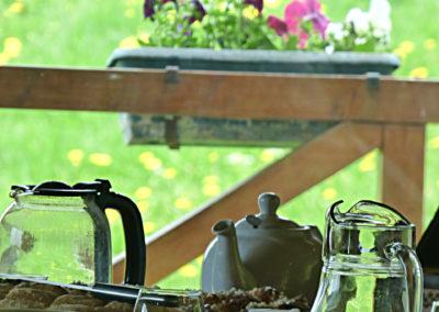 table hotes petit dejeuner murat cantal