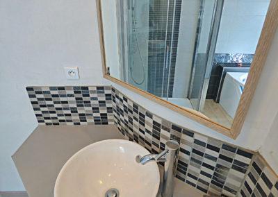 Salle de bain chambre d'hôtes