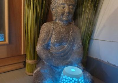 Bouddha pièce bien-être
